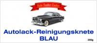 Lack - Reinigungsknete CLAY BAR blau fein 200g für die Professionelle Lackaufbereitung